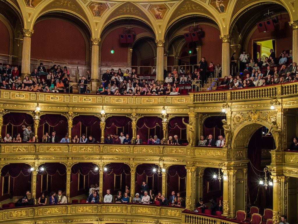 opera house in budapest