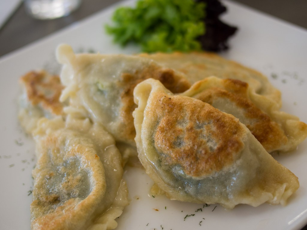 Hungary vs Poland: Some of the best pierogies we've had.