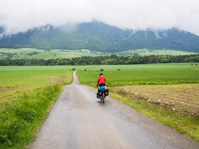 Another empty Slovakian road.