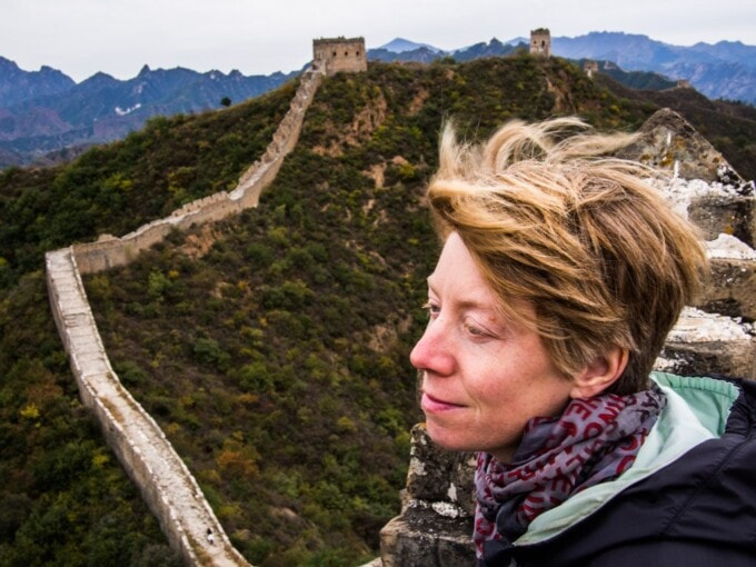 travel slowly great wall