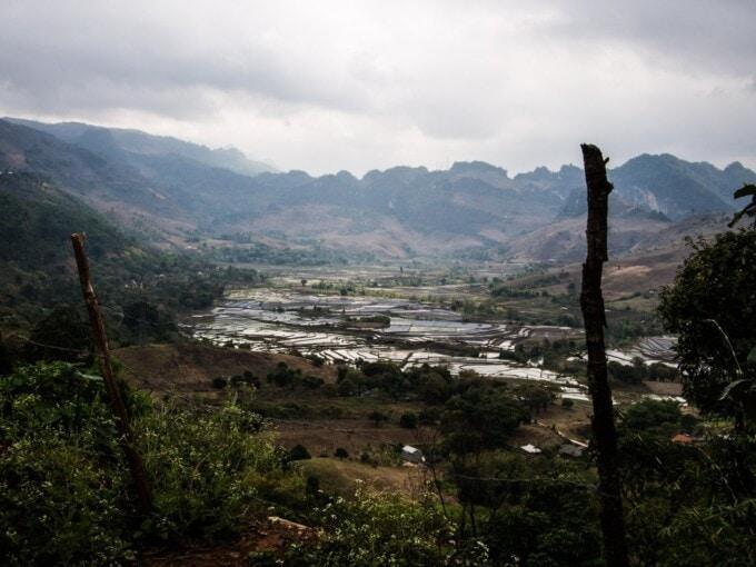 annamite mountains in vietnam