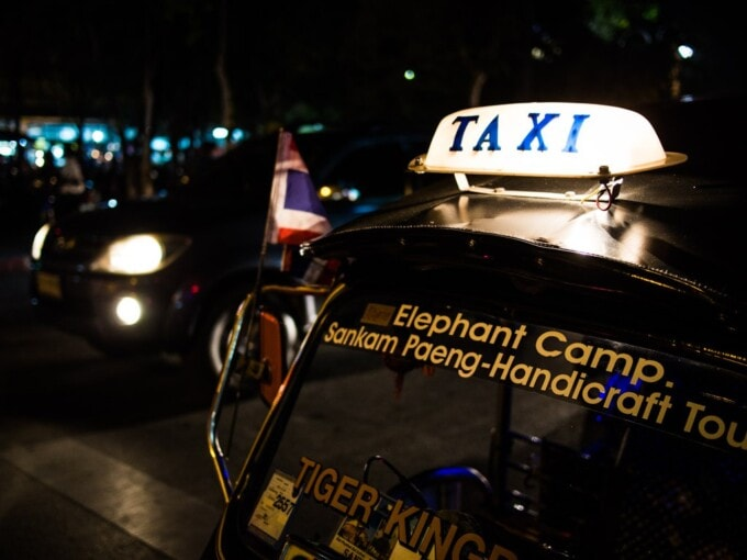 taxis in thailand do not require tipping