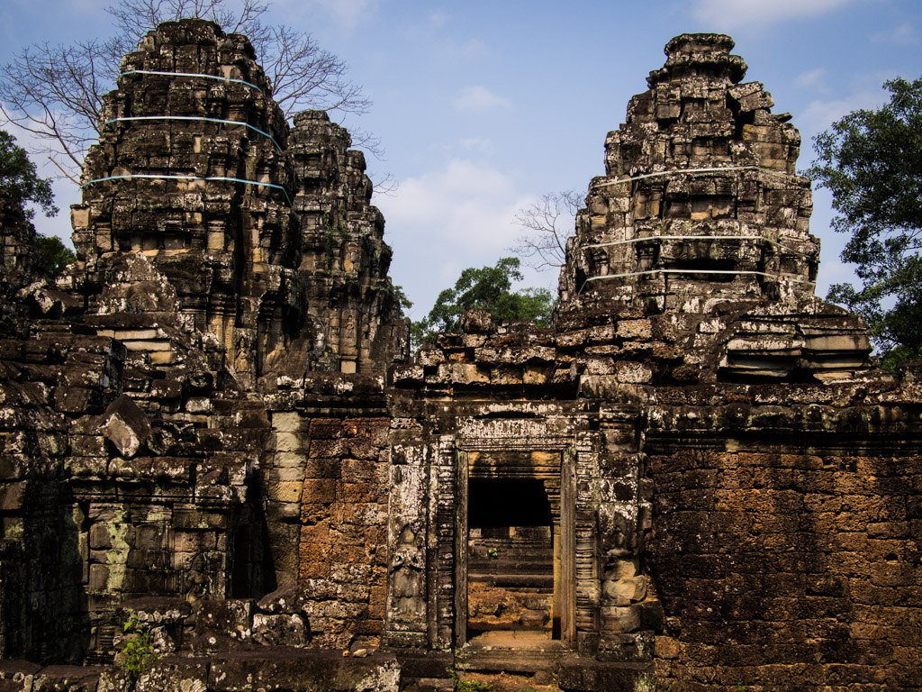 Held together with spit 'n' glue, Banteay Kdei.