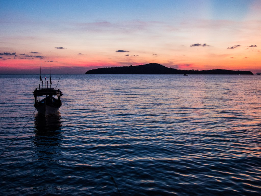 Another pristine sunset at Ten103, Koh Ta Kiev.
