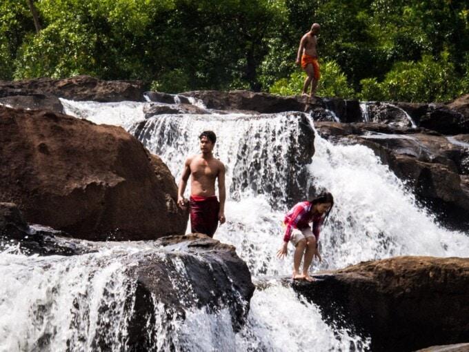 travel slowly waterfall