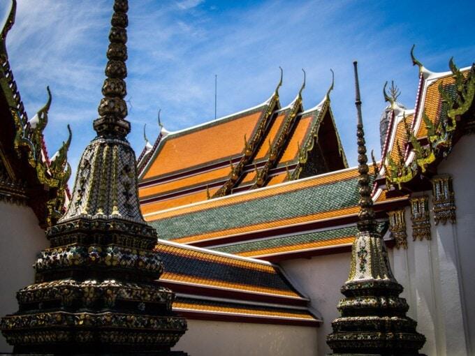 wat pho temple in bangkok