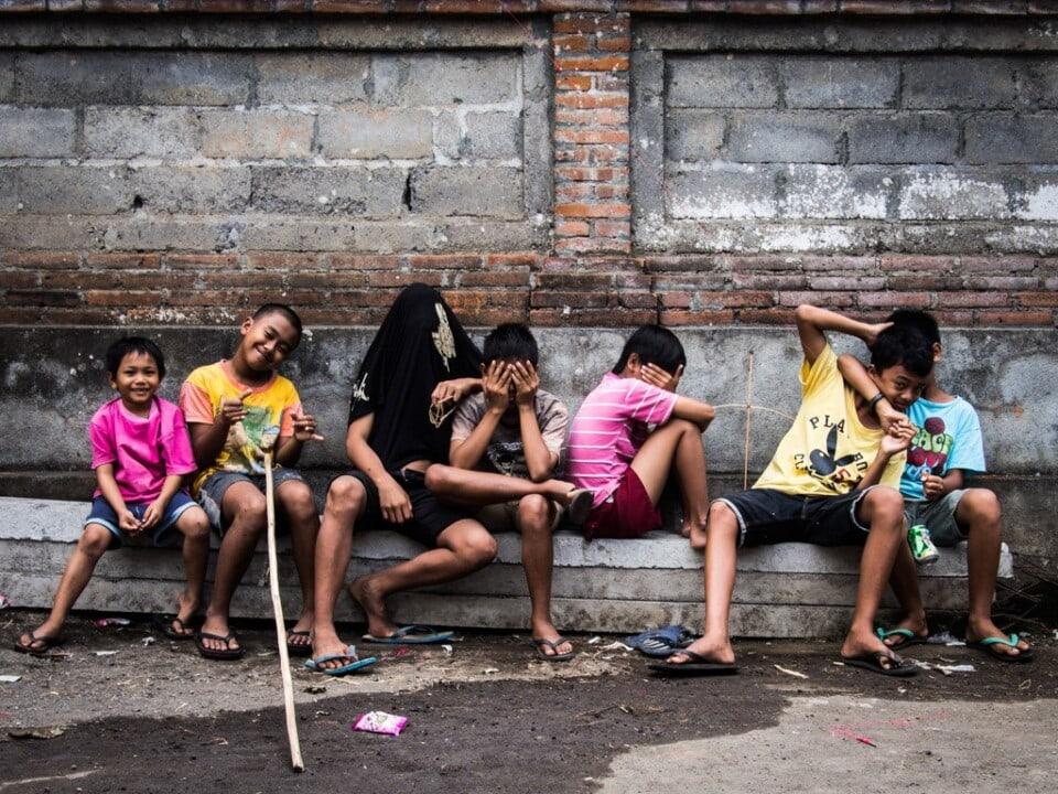 group of boys ubud bali