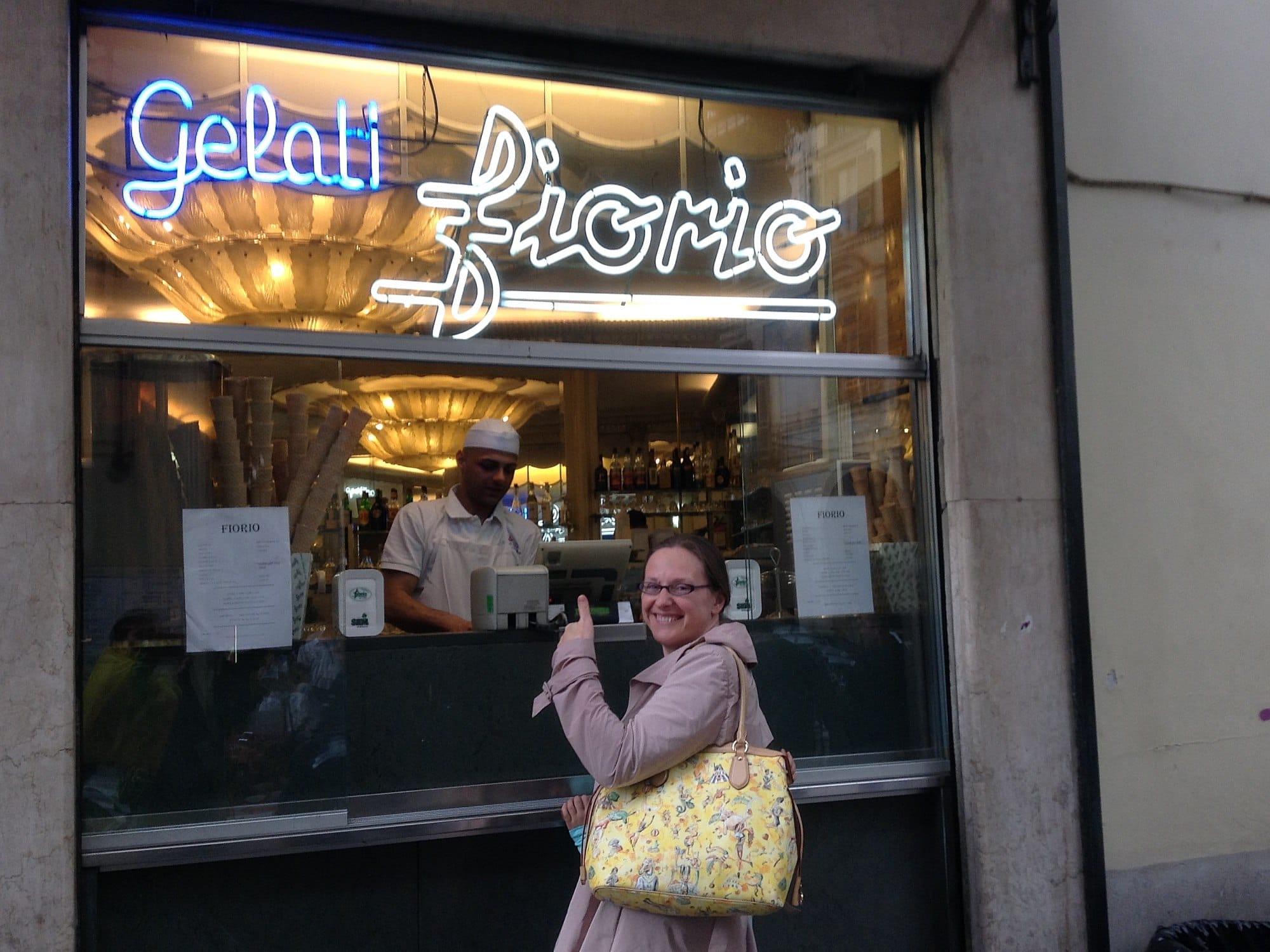 "Francesca says, ""Si!"" to gelato"