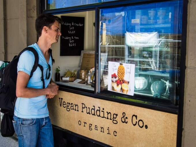 vegan, vegan food, Vancouver vegan, vegan pudding, Vegan Pudding & Co