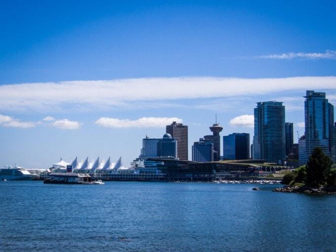 Stanley Park, Vancouver convention centre