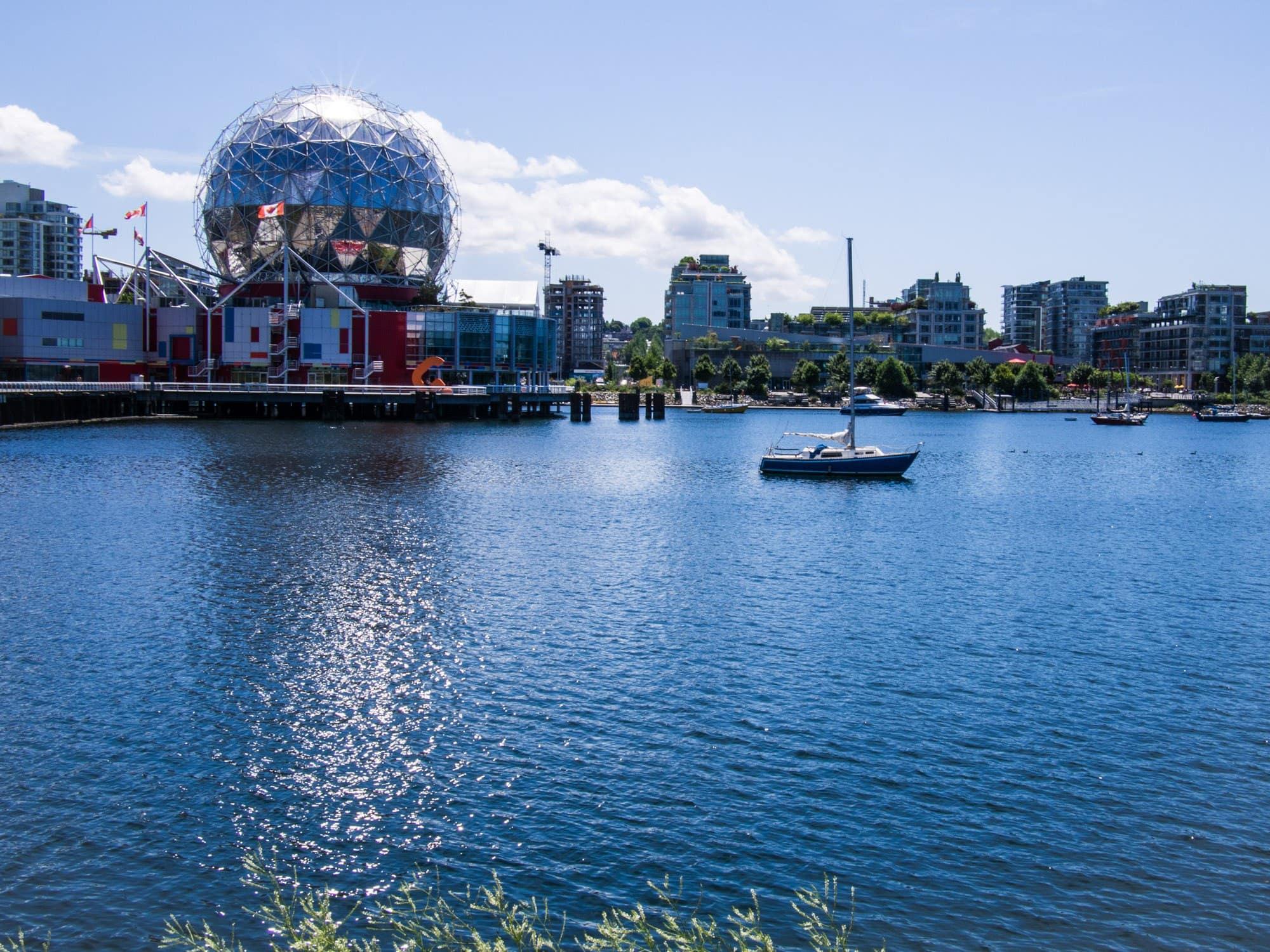 visit Vancouver, False Creek, Vancouver, science world vancouver, science center vancouver