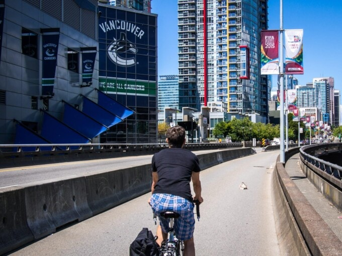 visit vancouver, bike Vancouver, cycle Vancouver, Vancouver bike infrastructure