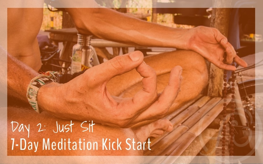 7 day meditation kick start
