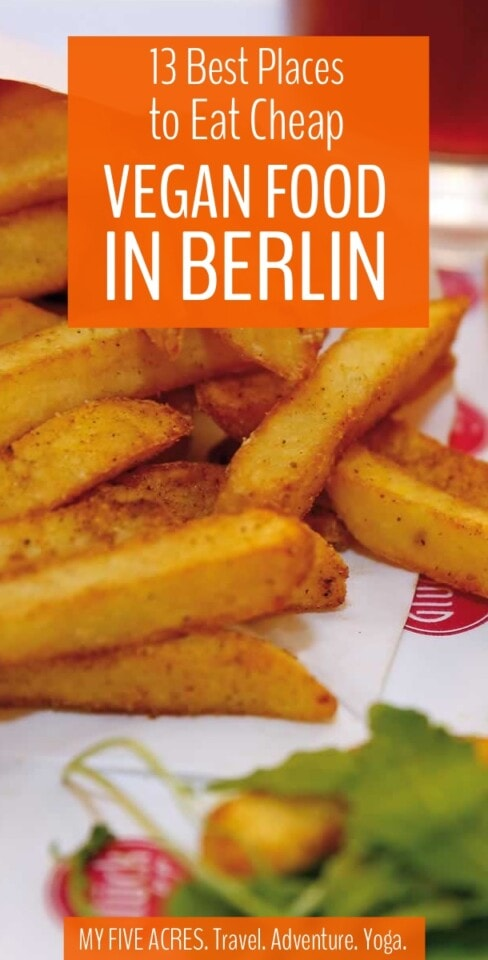 Berlin's vegan scene is amazing because there is vegan food everywhere you look! But, it can be hard to find the best cheap vegan food in Berlin. So before you go grab our vegan guide to Berlin (and don't forget your printable map)!