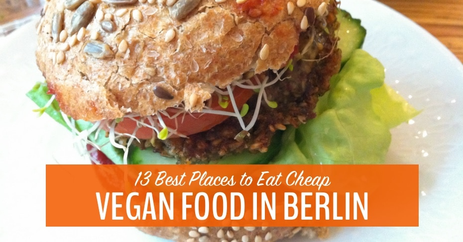 vegan food in berlin