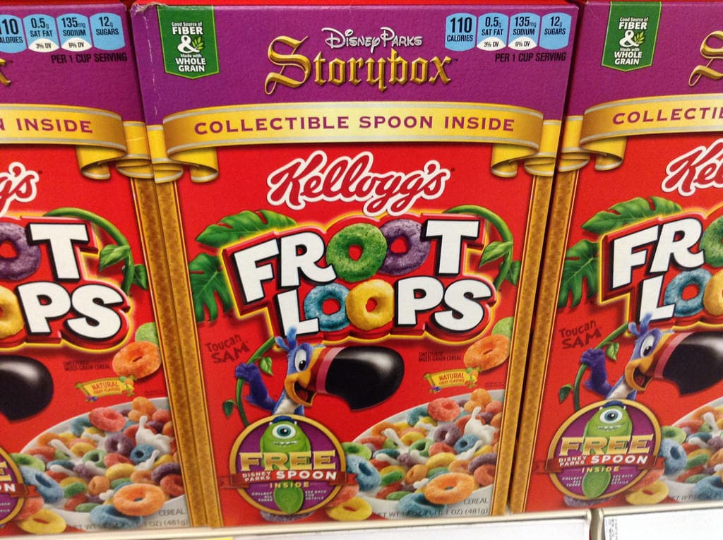 Europeans don't eat cereal
