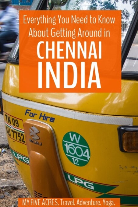 Getting around Chennai is not easy, unless you know what you're doing. This guide will tell you everything you need to know about Chennai transport for a hassle-free visit to this fascinating city.
