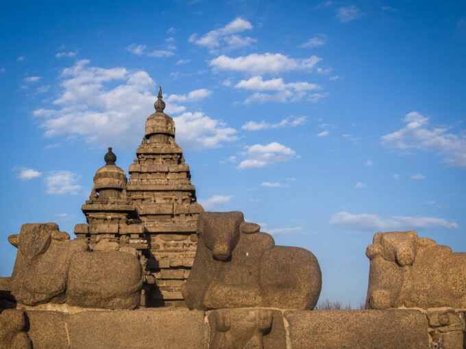 temple in mammallapuram tamil nadu india