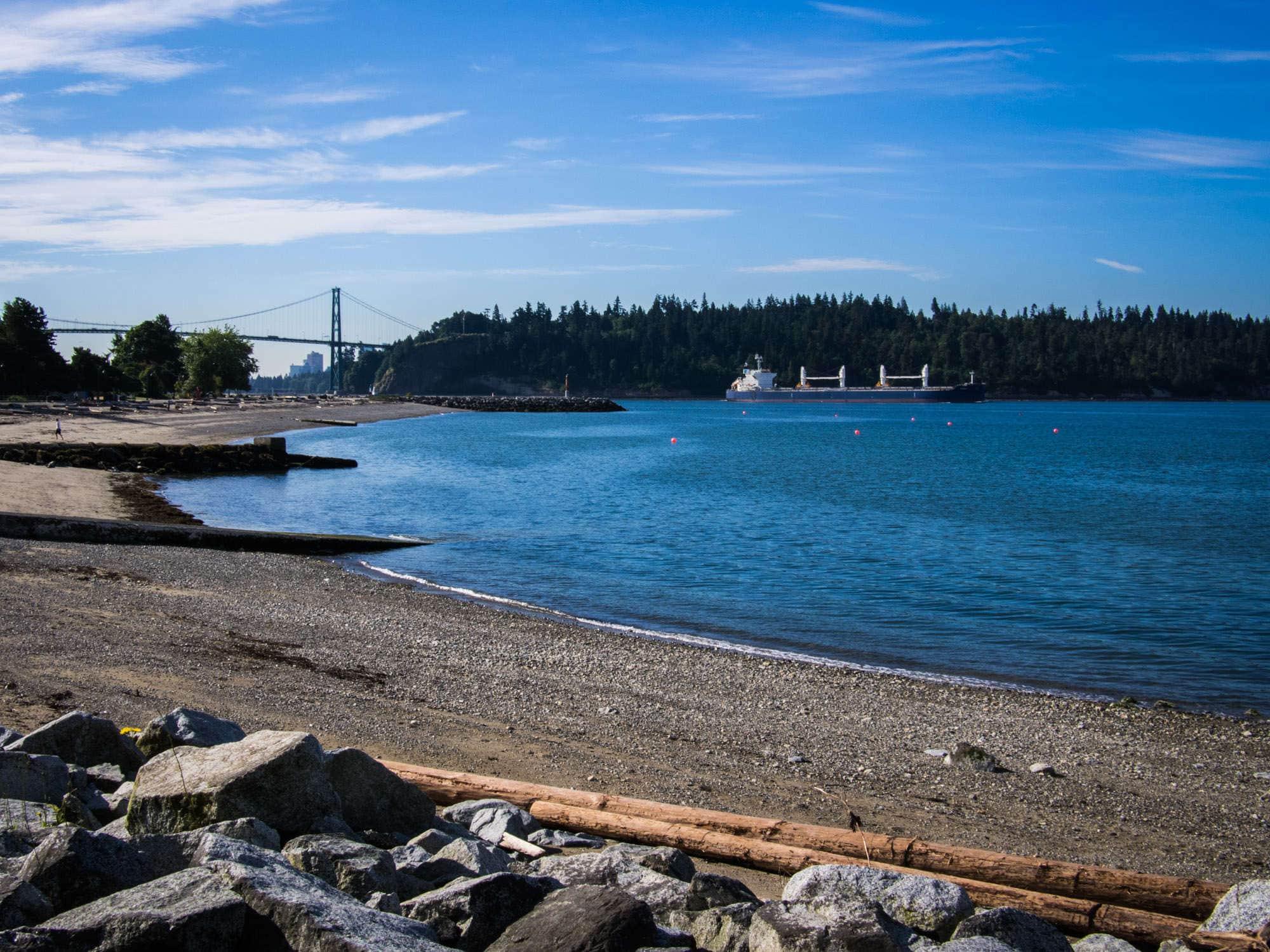 Vancouver beach ambleside