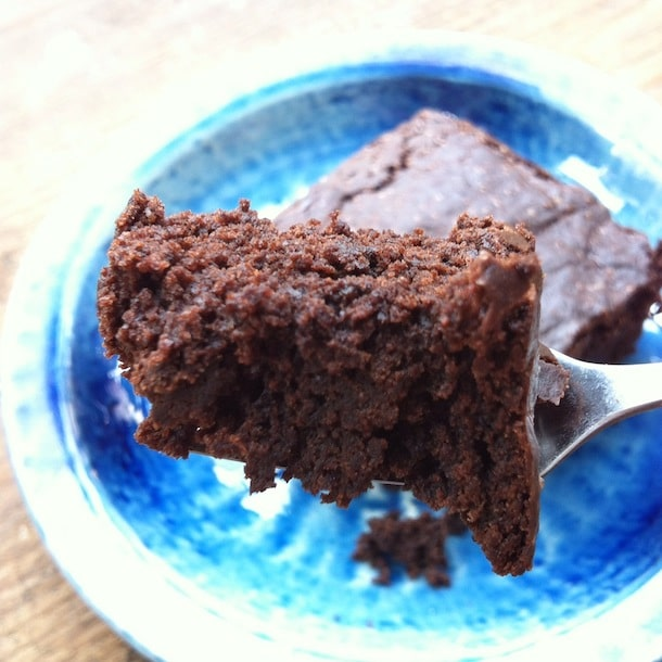moist vegan brownie