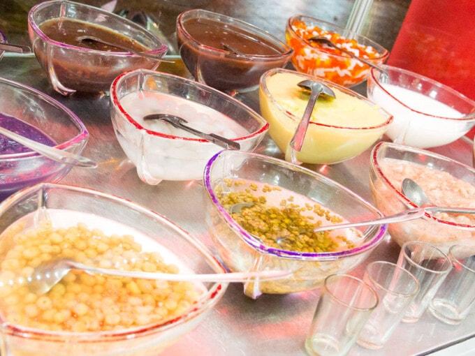 vegan dessert in hue vietnam