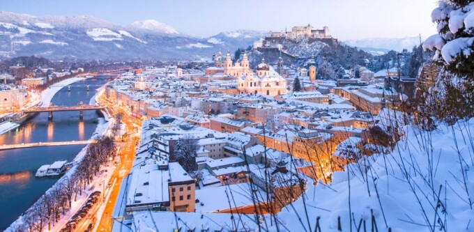 salzburg most romantic cities in Europe