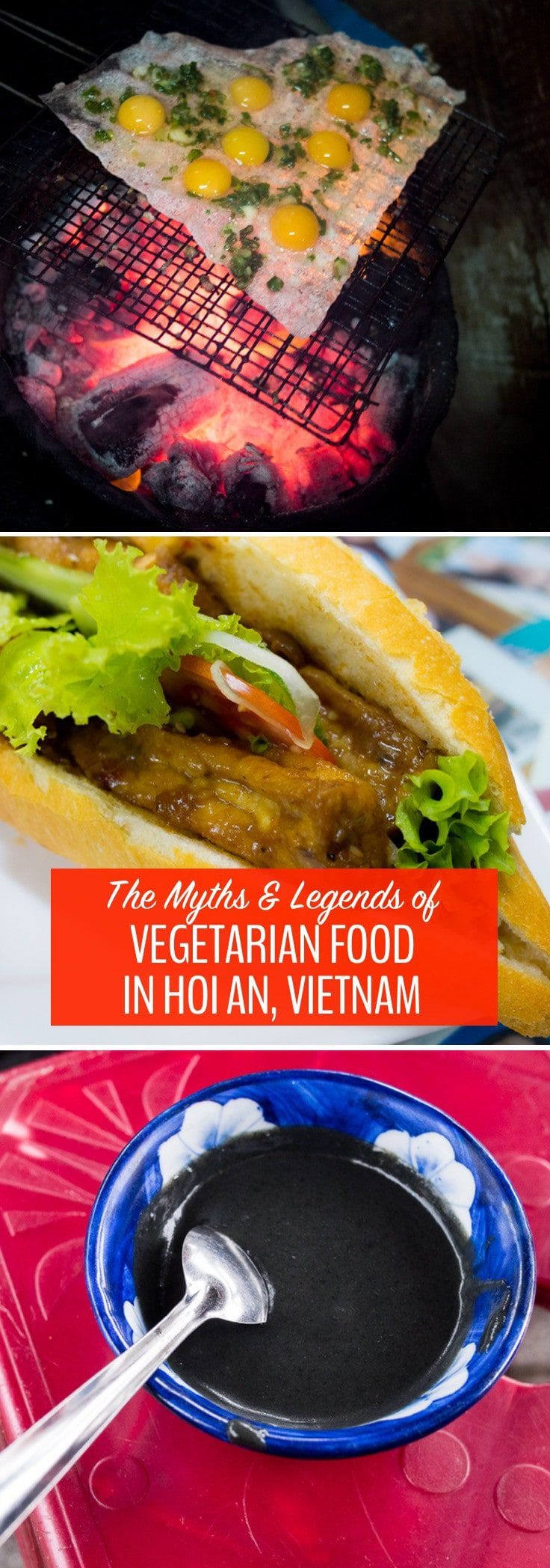 There is a huge selection of vegetarian food in Hoi An, Vietnam. Even though I'd thought I had sampled it all after a week in the city, this Hoi An Food Tour introduced me to new veggie delights. Check it out before you go to Vietnam.