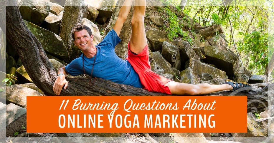 online yoga marketing