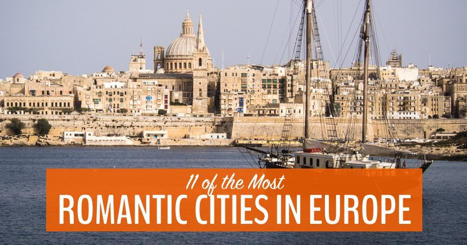 most romantic cities in Europe