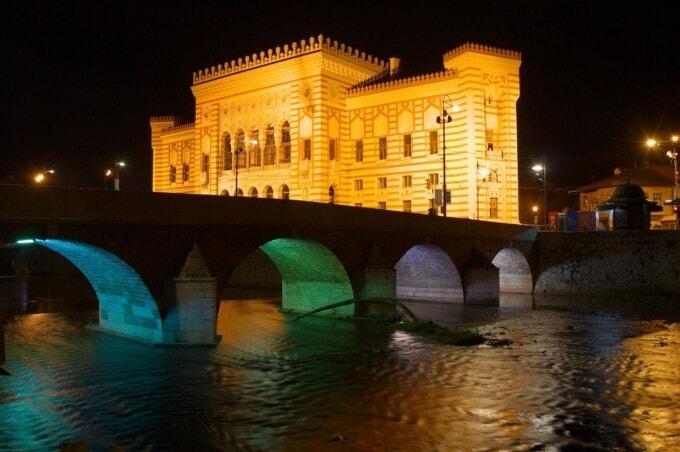 most romantic city in europe sarajevo