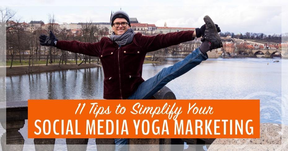 yoga marketing made easy