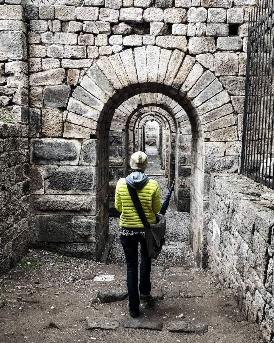 Izmir attractions Pergamon Turkey