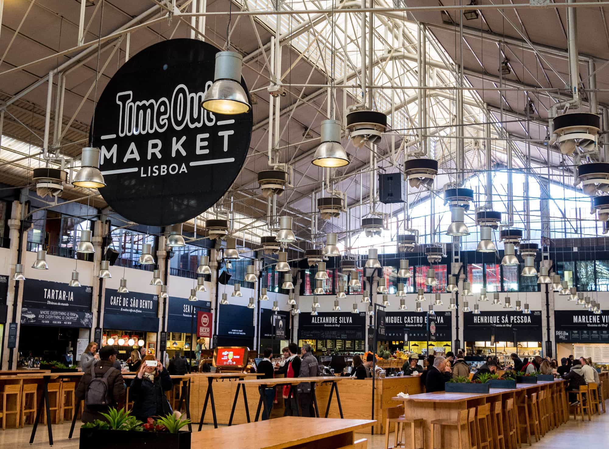Timeout Market In Lisbon Is Impressive But Not Very Vegetarian Friendly