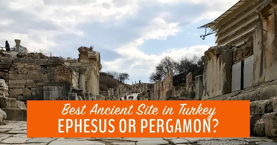 Ephesus or Pergamon