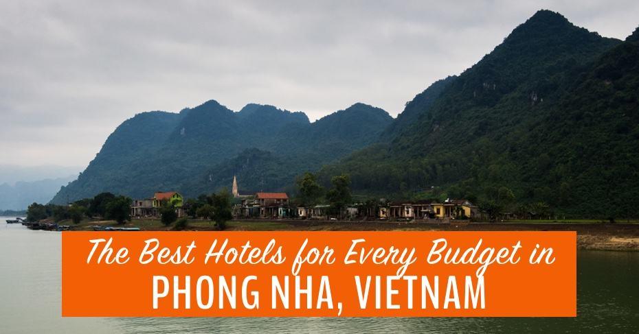 best hotels in Phong Nha Vietnam