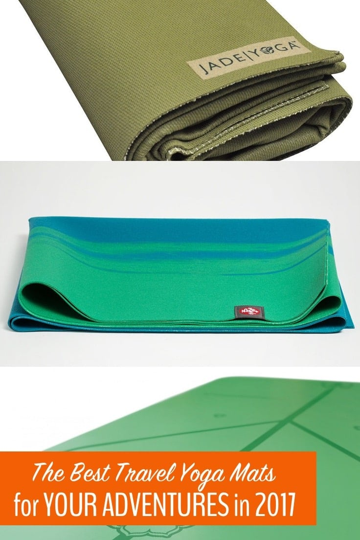 On our travels, we get the chance to try all of the best travel yoga mats available. Here's our guide so you can choose the best travel yoga mat for your needs.