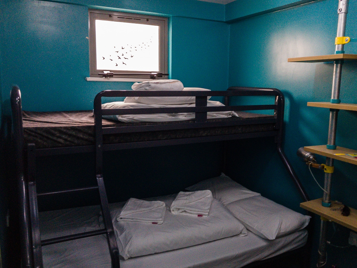 budget hostel in london