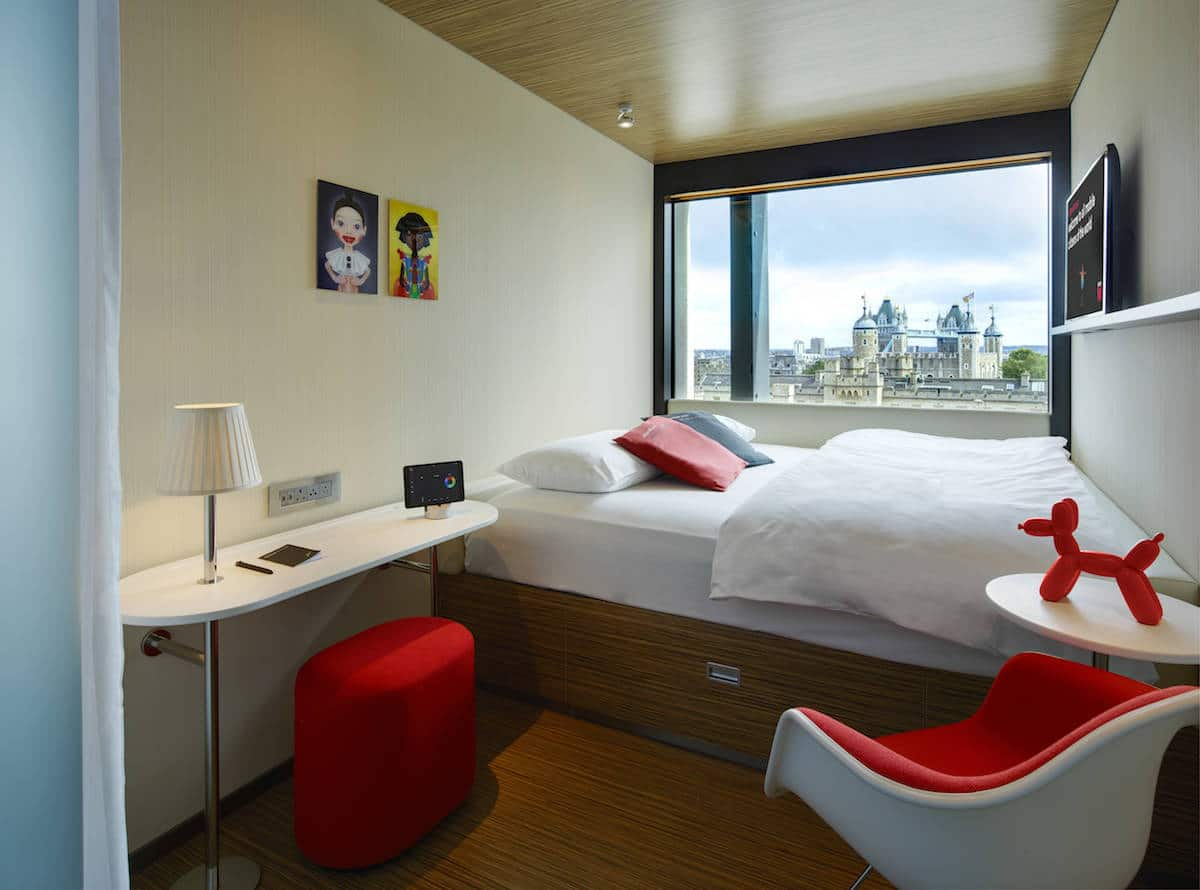 luxury on a budget in London citizenM