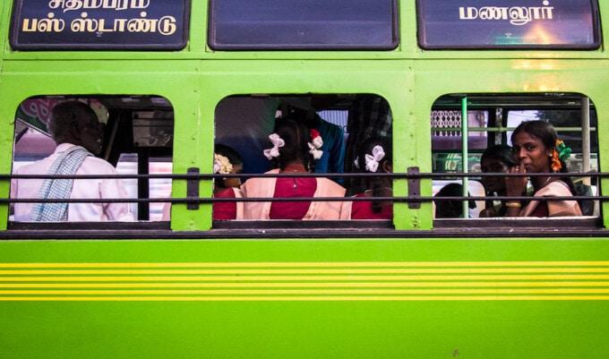 bus in tamilnadu, bus in tamil nadu