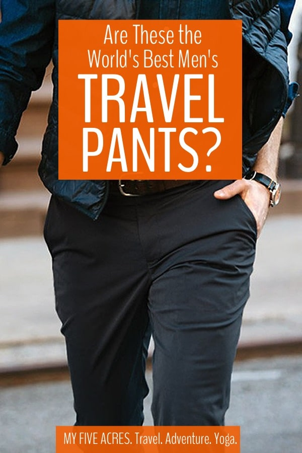 If you've been searching for the best men's travel pants, you may have just found them! Read on to find out why Bluffworks men's quick dry pants have earned a permanent spot in my luggage.