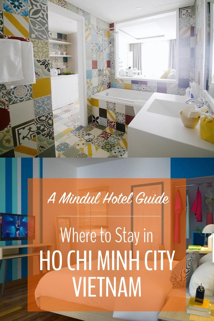 Find your perfect Ho Chi Minh City hotel. These are the best hotels in Ho Chi Minh for backpackers, flash packers and luxury travellers. #hotels #hochiminhcity #vietnam #mindfultravel