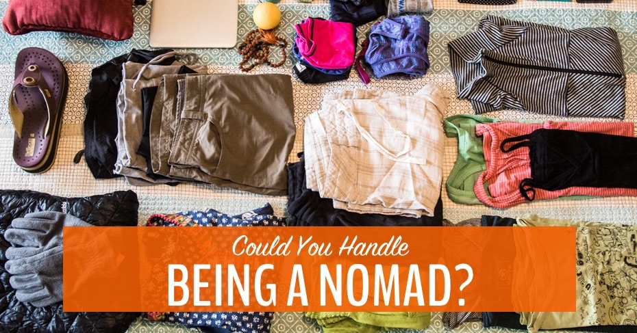 being a nomad