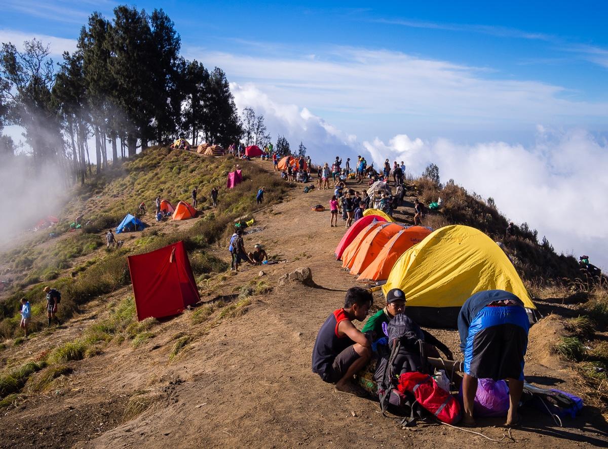 Image result for Mount Rinjani Trekking