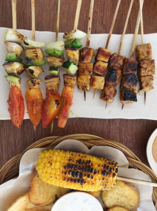 gili islands restaurants vegan vegetarian