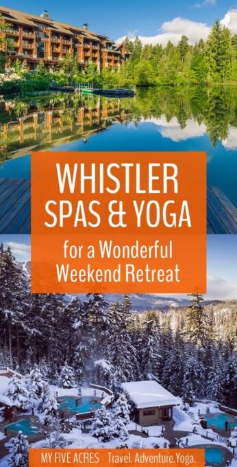 best whistler spas and yoga