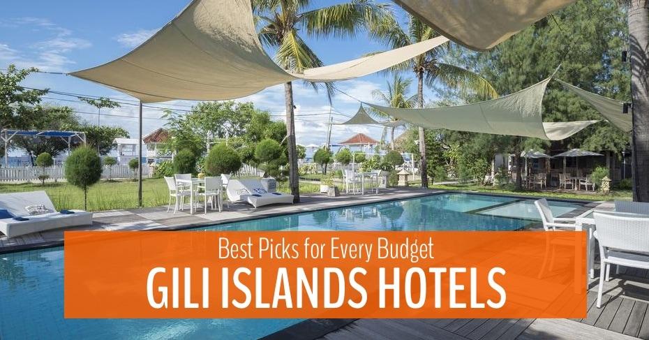 best hotels in gili islands blog image