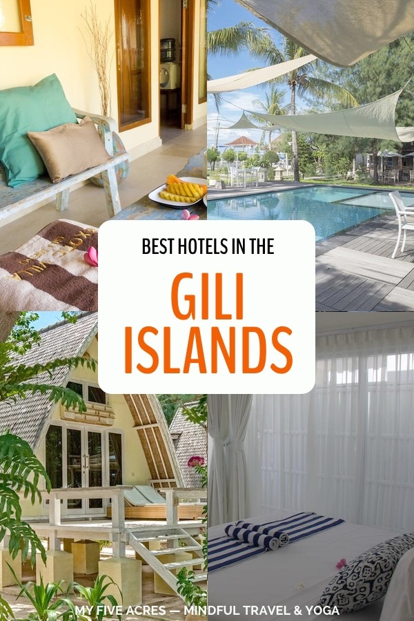 Looking for the best hotels in the Gili Islands, Indonesia? Here are our top picks of where to stay in the Gili Islands for every budget! #giliislands #indonesia #hotels #asia