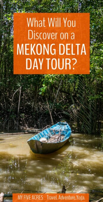 This Mekong River tour is the perfect way to escape the crazy streets of Saigon and immerse yourself in the exotic nature of the Mekong Delta.