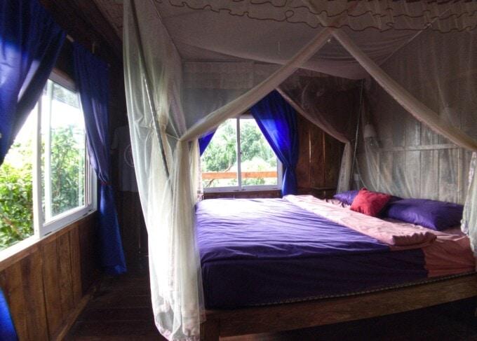 treehouse room at sabay beach resort kampot