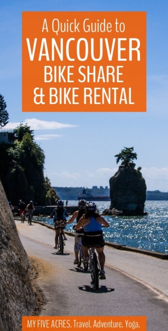 Vancouver bike rental couldn't be easier. Here are all the details you need to use the Vancouver bike share program, to rent from a bike shop, or to rent a bike to ride the Stanley Park Seawall.